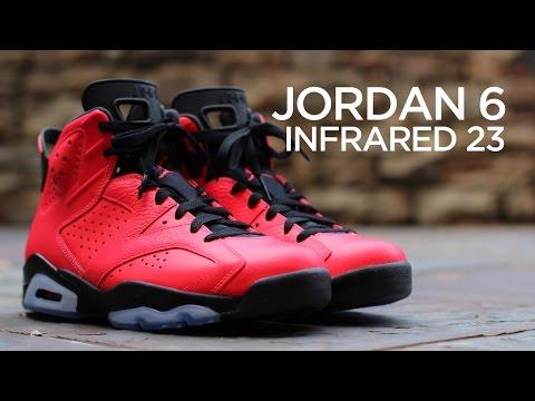 65f853520c27fe Closer Look  Air Jordan 6 Retro - Infrared 23 - YouTube