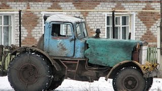 #1545. Home-made Tractor [RUSSIAN CARS]