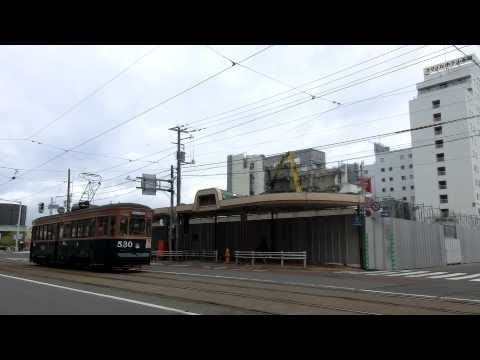 Japan Hakodate City Tram ( Street Car ) 函館市電530号