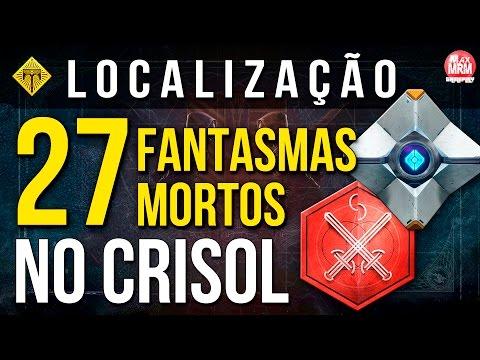 Destiny - 27 FANTASMAS MORTOS NO CRISOL ( PVP ) / Localização [ Crucible Dead Ghosts ]