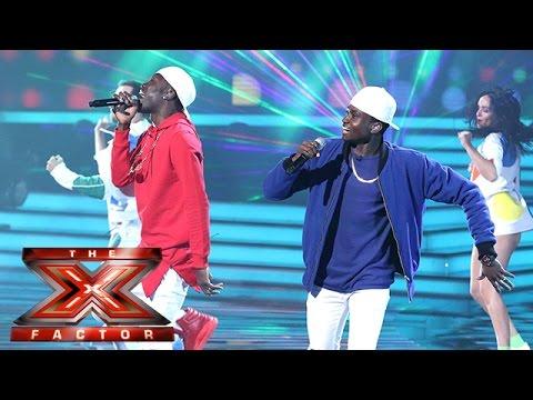 We've gotta feeling Reggie 'N' Bollie are having a good night! | Semi-Final | The X Factor 2015
