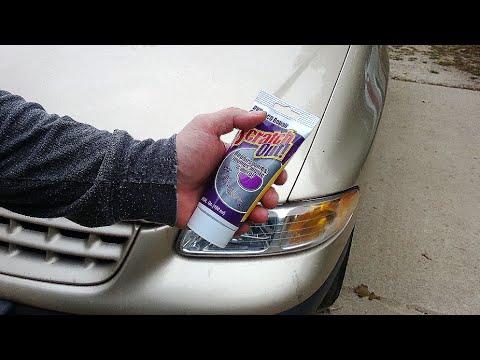 RESTORE DINGY DIRTY CAR HEADLIGHT LENS CLEAN Auto Head Light EASY tips tricks DIY