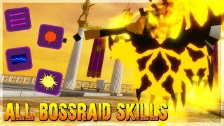 ALL NEW SKILLS IN BOSS RAID T20 *WHAT IS THE BEST SKILL?* IN DUNGEON QUEST ROBLOX