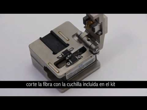 KIT FUSIONADORA FIBRA OPTICA EASY SPLICER FO-110016