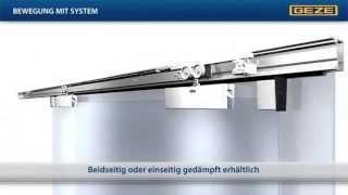 Механизм для раздвижных алюминиевых дверей GEZE Perlan 140(Предлагаем Вашему вниманию систему GEZE Perlan 140 ..., 2012-11-07T06:43:45.000Z)