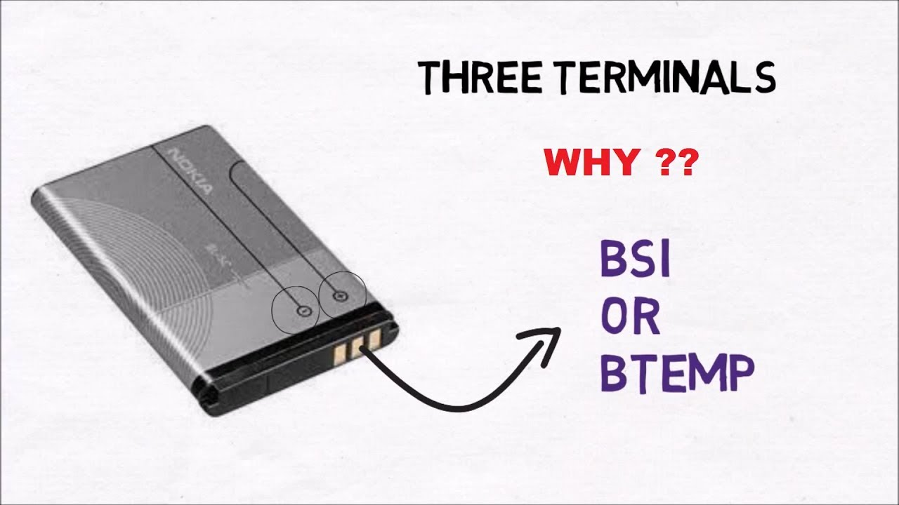 hindi why a mobile phone battery has three terminals  [ 1280 x 720 Pixel ]