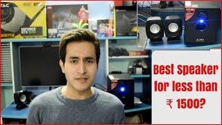 F&D F203G Speakers User Review and Sound Test. Best Desktop/Laptop Speakers under ₹1500?