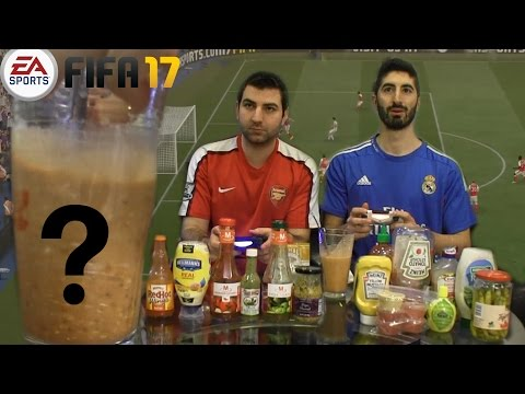 Thumbnail: MYSTERIOUS DISGUSTING SAUCE™ FIFA 17 CHALLENGE