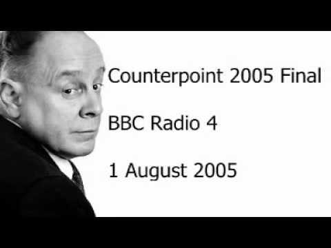 Ned Sherrin - Counterpoint s19e13
