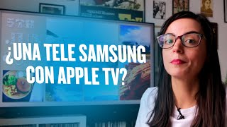 Gambar cover Apple TV llega a los televisores Samsung