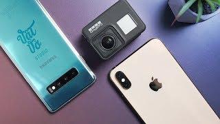 Thử nghiệm Camera chống rung  bá đạo của Samsung Galaxy S10
