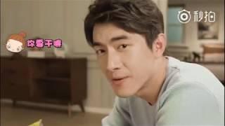 Khi Lâm Canh Tân Và Triệu Lệ Dĩnh xem phim Hàn quốc - QUảng cáo khăn giấy