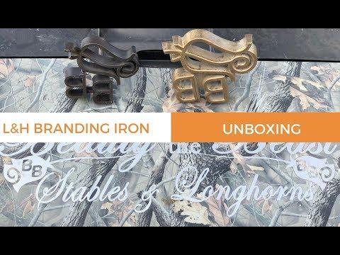 L&H Branding Iron Unboxing (Custom Freeze Brand)