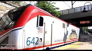 Amtrak 140 with Veteran 642 & Metroliner Cab Car (New Rochelle, NY)