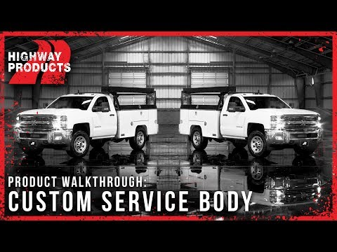 Highway Products | Custom Service Body