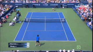 Stanislas Wawrinka vs Chung Hyeon US OPEN 2015