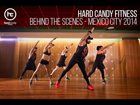 Behind the Scenes - Hard Candy Fitness Mexico City