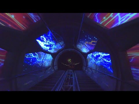 Space Mountain Ghost Galaxy 2018 (Full Ride) Disneyland