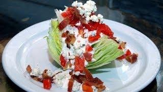 Bacon Wedge Salad!