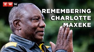 ANC President Cyril Ramaphosa delivered the keynote address at the 150th birthday celebration of political activist Charlotte Maxeke in Gqudesi, Eastern Cape. Ramaphosa said corruption within the ANC must be addressed so that people regain their confidence in the ruling party.