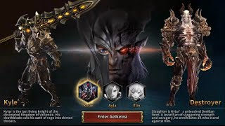 Gamevil Devilian Mobile Kyle Beta Test Gameplay Video (Android, RPG Game)