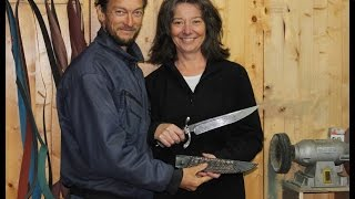2017 ABS International Master Smith Knife of the Year by Véronique Laurent and Jean Louis Regel, MS
