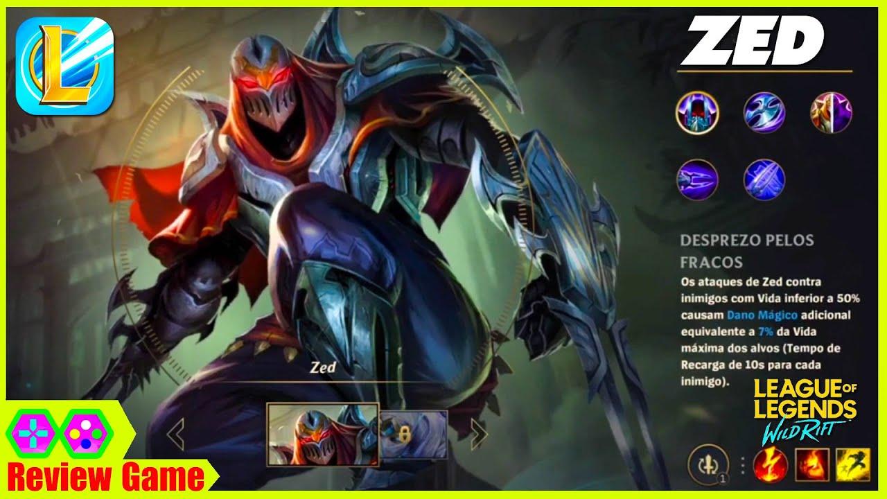 Lol: Wild Rift (LMHT: Tốc Chiến) – HOT Zed Gameplay 1080p60fps Combo Khó Hơn PC