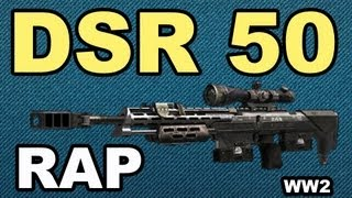 DSR 50 RAP SONG - BLACK OPS 2 | WEAPON OF THE WEEK (#2)