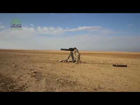 Ahrar Al-Sham wiped out with a #TOW a tank on #Maan front.