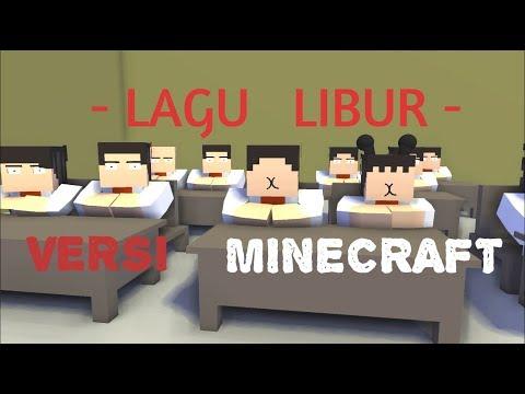 Animasi Nopal Versi MINECRAFT - Lagu Libur Sekolah (COVER)
