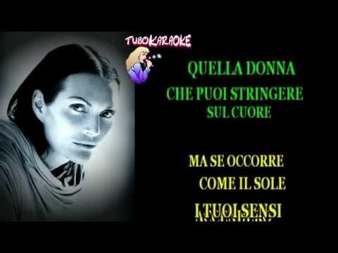 Anna Oxa Donna Con Te)  Karaoke avi