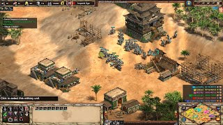 Age of Empires 2: Definitive Edition - 3v3 RM Mongols Arabia - eartahhj - 18/01/2020