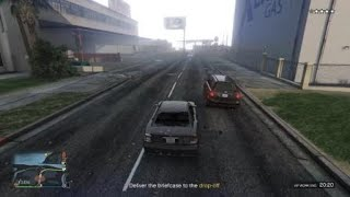 GTA Online Funny Moments - Cool Car Flip!