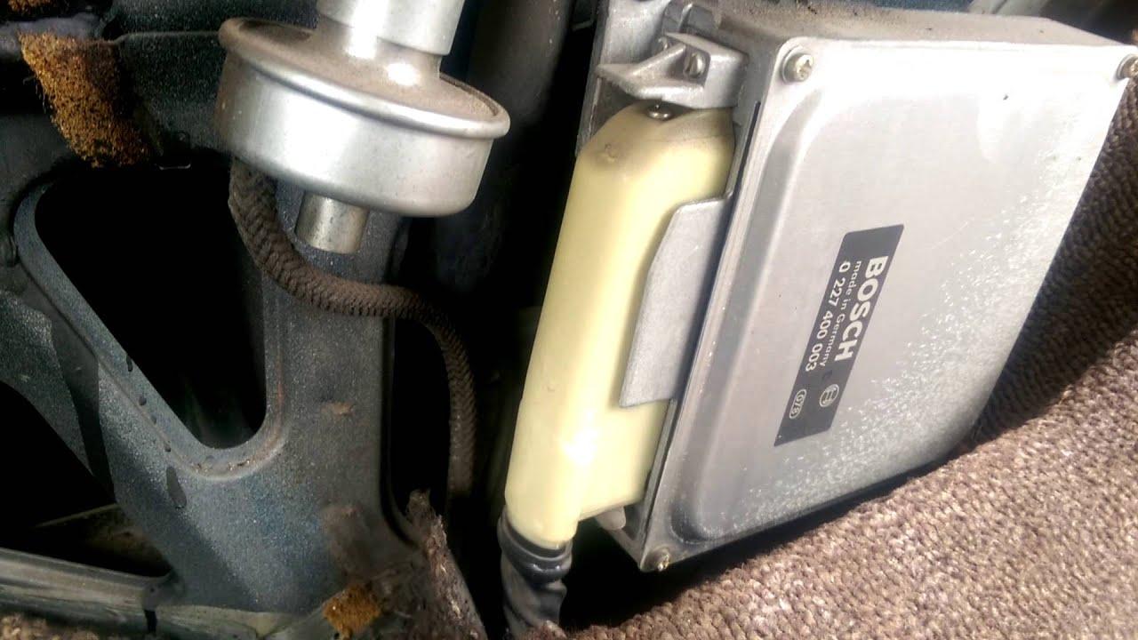 84 Alfa Romeo Spider Ignition Ecu Vacuum Sensor Youtube Fuse Box 98 Spyder