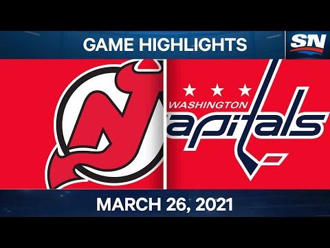 NHL Game Highlights | Devils vs. Capitals – Mar. 26, 2021 |