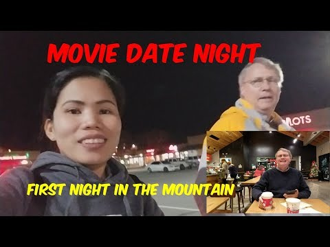 American Filipina Life In America      Our First Night In The Mountain + Movie Date