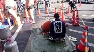 餅つき ササキミート 木瀬部屋力士.