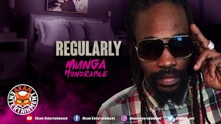 Munga Honorable - Regularly [lingerie Riddim] Audio Visualizer