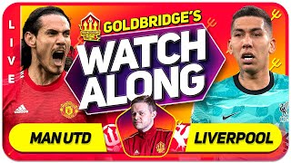 GLAZERS OUT PROTEST LIVE! MANCHESTER UNITED vs LIVERPOOL With Mark GOLDBRIDGE