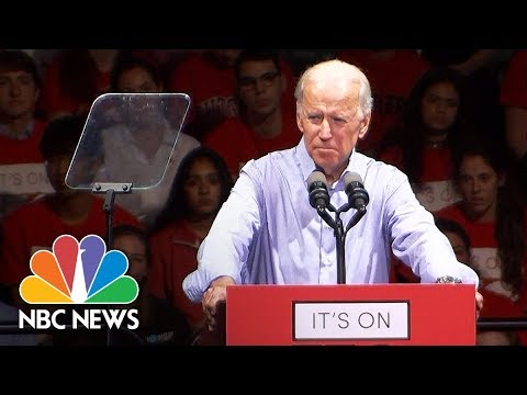 Joe Biden Slams Harvey Weinstein For 'Disgusting And Immoral' Abuse Of Power   NBC News