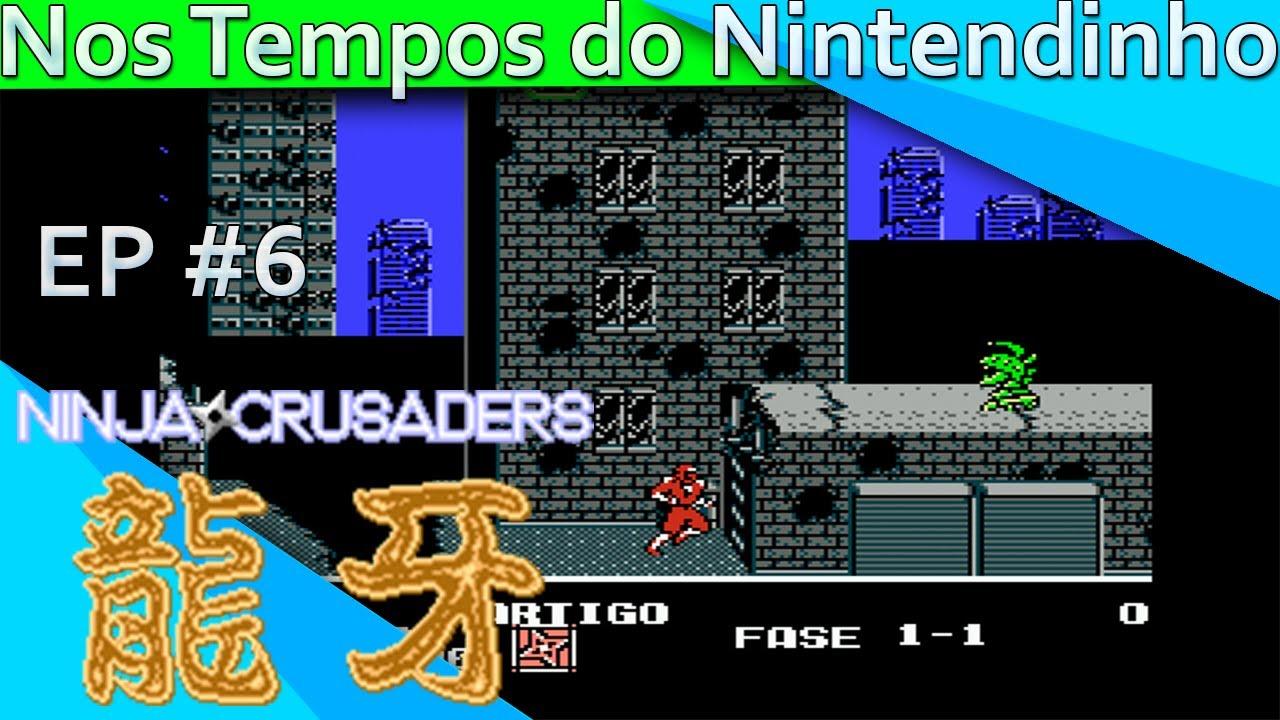Ninja Crusaders Nintendo Nes 2 Players Ep 6 Youtube
