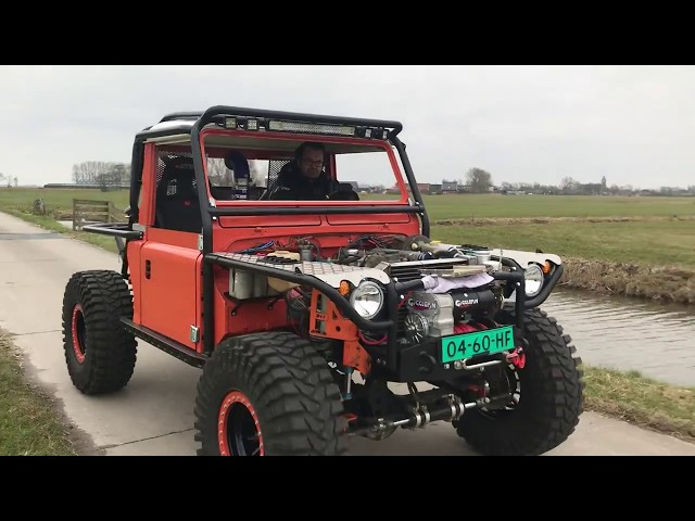 First test drive Land Rover 103 inch of Team Offrovers