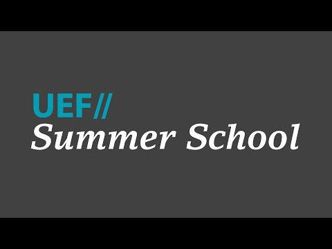 UEF // Summer School - Apply now!