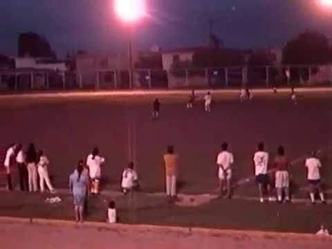 Partido de futbol Vivienda Popular, años 90's, Guadalupe, Nuevo Leon