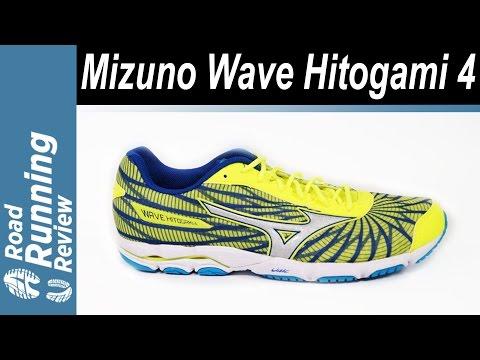 léxico paracaídas Vagabundo  Mizuno Wave Hitogami 4 Review - YouTube