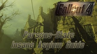 Fallout 4 Guide Parsons-State-Irrenanstalt - So gehts rein