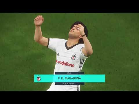 PES2018 Diego Maradona Best Free Kick