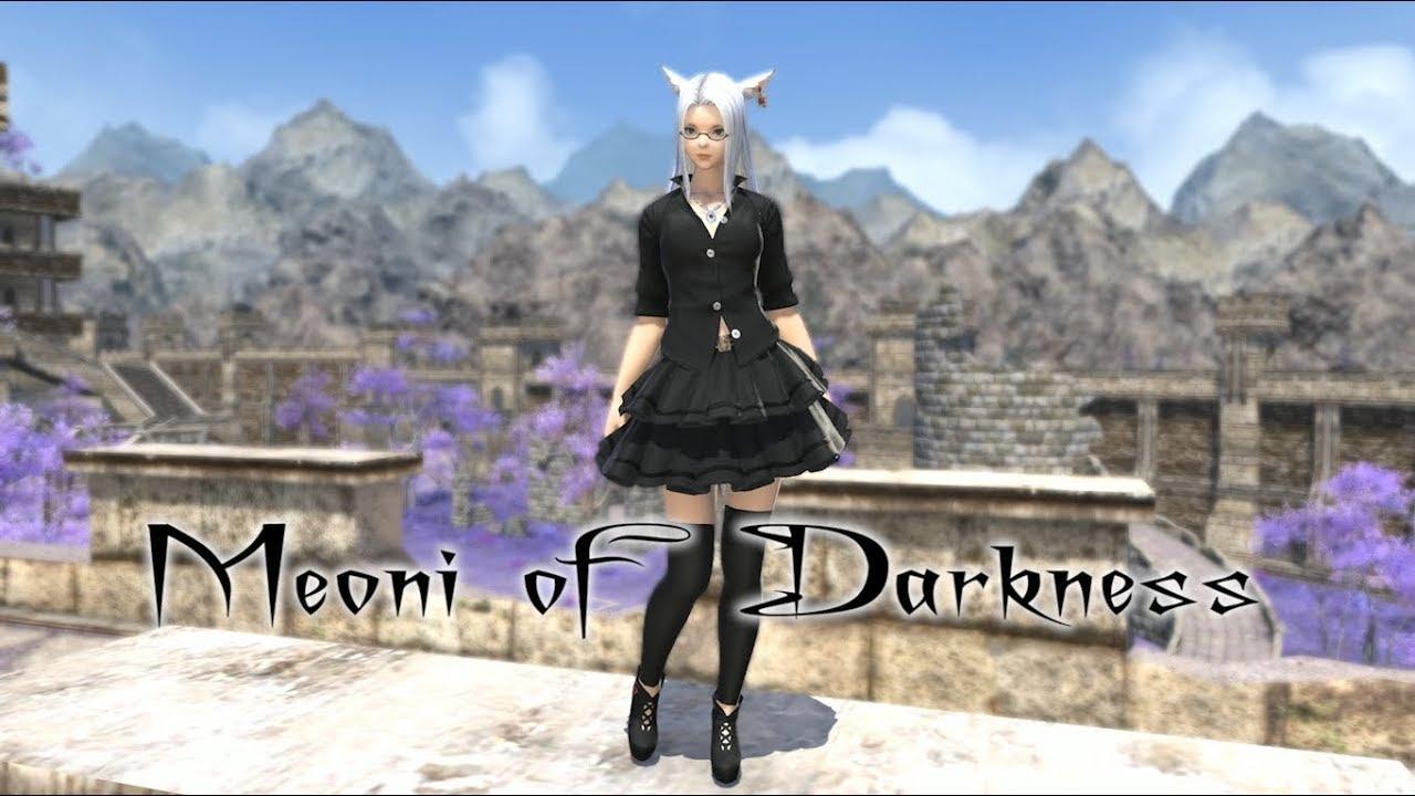 Ffxiv Quaintrelle S Ruffled Dress By Meoni [ 720 x 1280 Pixel ]
