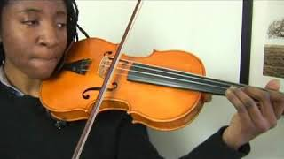 Violin Lesson: D Minor Scale