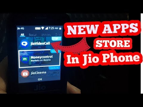 NEW APPS STORE IN JIOPHONE | NEW REDESIGN IN JIOPHONE | NEW UPDATE |